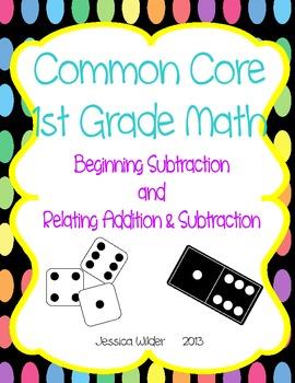 Common Core Math - 1st Grade - Beginning Subtraction (Part 2)