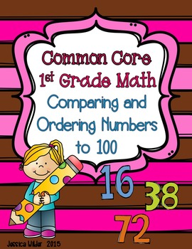 Common Core Math - 1st Grade - Comparing and Ordering Numbers to 100 (Part 9)