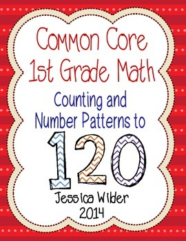 Common Core Math - 1st Grade - Number Patterns to 120 (Part 7)
