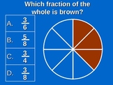 Common Core Math 3rd Grade 3 NF.1 Understand a Fraction Practice Sets