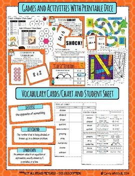 Common Core Math: 3rd Grade Division Complete Set