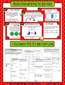 Common Core Math: 3rd Grade Fractions Complete Set