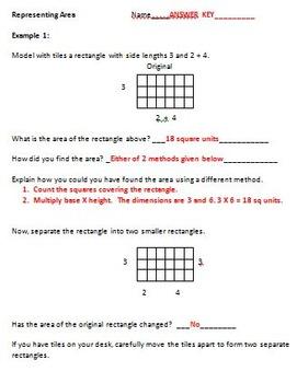 3rd Grade Math - Measurement Activities (3.MD.7c, 3.MD.7d)
