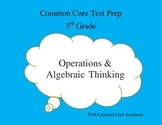 Common Core Math 3rd Grade Task Cards Operations & Algebra