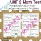 Common Core Math 3rd Grade Unit 2 Assessment OA.1-4