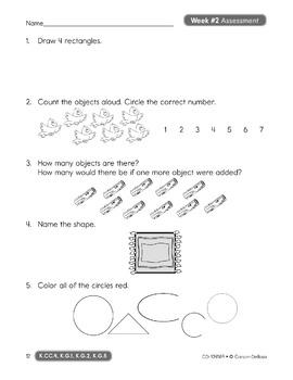 Common Core Math 4 Today Grade K SALE 20% OFF! 104589