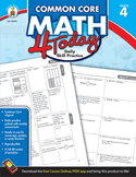 Common Core Math 4 Today Grade 4 SALE 20% OFF! 104593