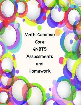 Common Core Math 4NBT5 Assessments