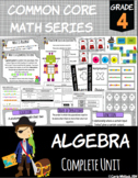 Common Core Math: 4th Grade Algebra Complete Set