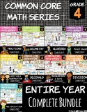 Common Core Math: 4th Grade Bundle - Entire YEAR!