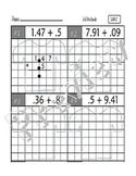 Common Core Math 5.NBT.7 : Add,Subtract,Multiply,Divide Decimals