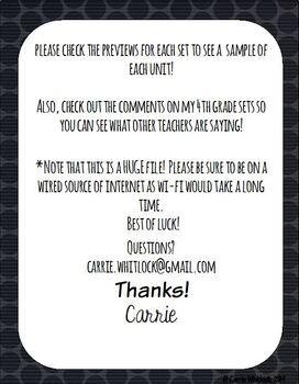Common Core Math: 5th Grade Complete Set - Entire YEAR! Bundle