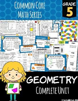 Common Core Math: 5th Grade Geometry Complete Set