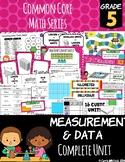 Common Core Math: 5th Grade Measurement & Data Complete Set