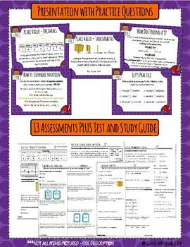 Common Core Math: 5th Grade Place Value Complete Set