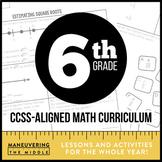 6th Grade Math Curriculum Common Core Bundle