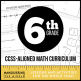 6th Grade Math Curriculum Common Core Bundle