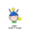 Common Core Math 7 Evidence Log