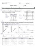 Common Core Math 8 Assessment - Proportional and Linear Relationships