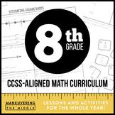 8th Grade Math Curriculum CCSS-Aligned