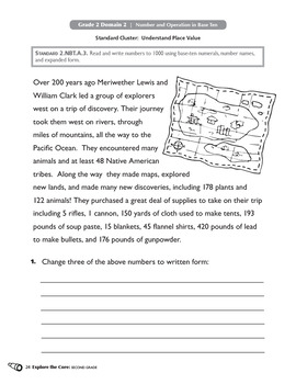 Common Core Math Activities for Second Grade: Explore the Core