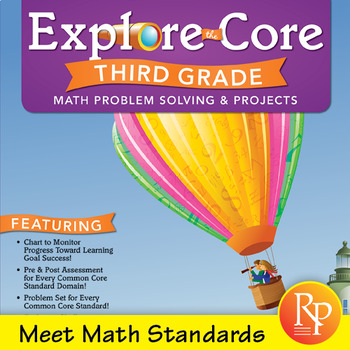 Common Core Math Activities for Third Grade: Explore the Core