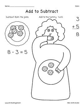 Common Core Math: Add to Subtract (Grade 1)