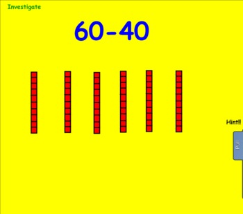 Common Core Math: Adding and Subtracting 2 Digit Numbers (Smartboard)