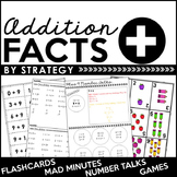 Addition Facts By Strategy: Flashcards, Games, Number Talk