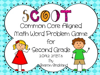 Common Core Math Aligned SCOOT Word Problem Game