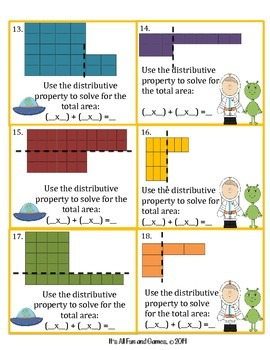 Area - Common Core Math Game 3.MD.7