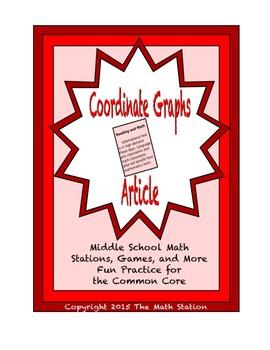 Common Core Math Article - Coordinate Graphs
