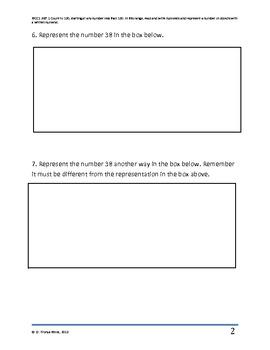 Common Core Math Assessment 2
