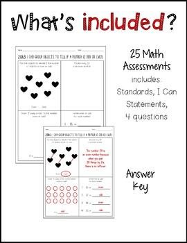 Common Core Math Assessment 2nd Grade