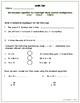 Common Core Math Assessment - 5th Grade  (Module 2 Topic B)