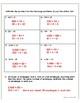 Common Core Math Assessment - 5th Grade (Module 2 Topic E)