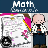 Math Assessments For First Grade Standard : Common Core Aligned