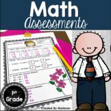 Math Assessments First Grade