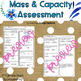 Mass & Capacity 3MD.2 Common Core Math Assessment