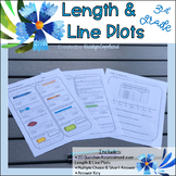 Length to the 1/2 & 1/4 Inch 3MD.4 Common Core Math Assessment