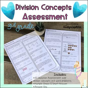 Division OA2 & 3 Common Core Math Assessment