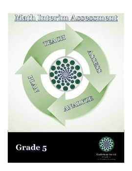 Common Core Math Assessment Grade 5