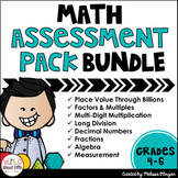 Math Assessment Pack BUNDLE - Common Core Aligned