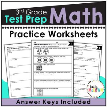 Common Core Math Assessment Test Prep Practice - Grade 3