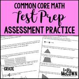 Common Core Math Assessment Test Prep Practice - Grade 4
