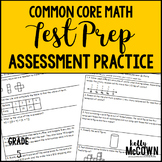 Common Core Math Assessment Test Prep Practice - Grade 5