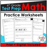 Common Core Math Assessment Test Prep Practice - Grade 6