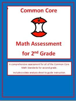 Common Core Math Assessment for 2nd Grade