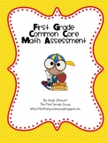 Common Core Math Assessment for First Grade