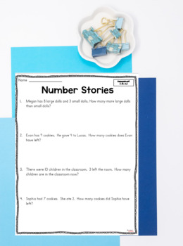 Common Core Math Assessments- 1st Grade - January